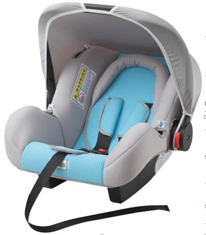 Gray And Blue Child Safety Car Seats With Side - Impact Protection System